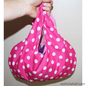 Sew Simple Reversible Sling Bag - a-stitch-a-half