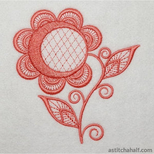 Simple Accent Bud - a-stitch-a-half