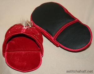 Slippers 4 Lovers - a-stitch-a-half