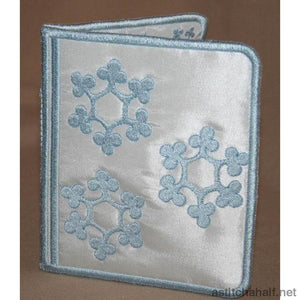 Snowflake Wallet All In The Hoop