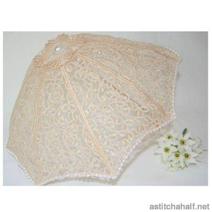 Sonata Lace Parasol Applique