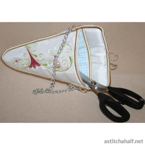 Summer Scissor Pockets - a-stitch-a-half