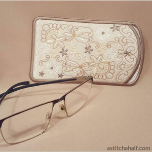 Sweet Serenade Eyeglasses Case All In The Hoop