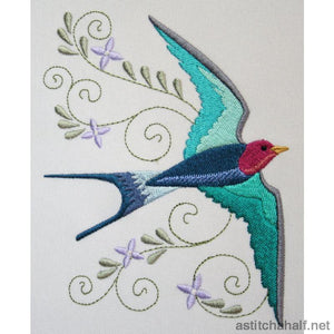 Sweet Swallow Combo - a-stitch-a-half