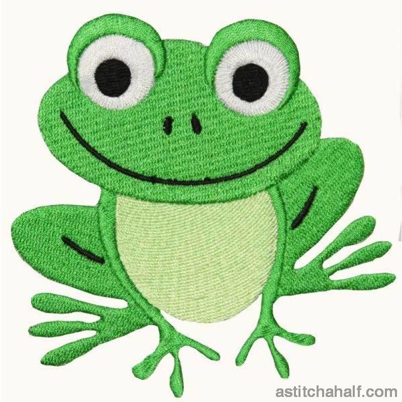 Tickles Toad Embroidery Fill