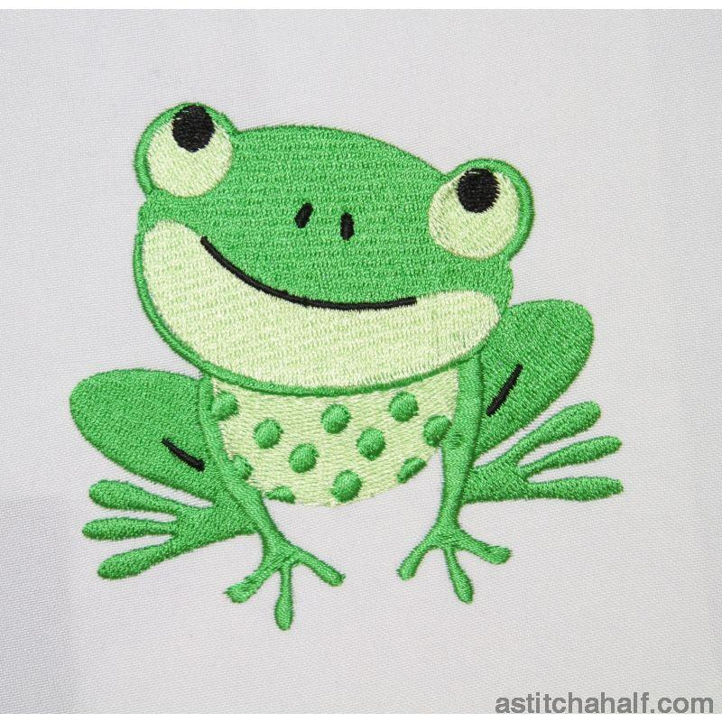 Toad Aly Spoiled Embroidery Fill