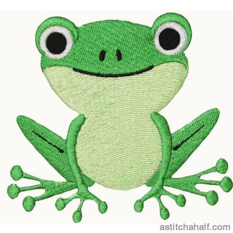 Tom Toad Embroidery Fill