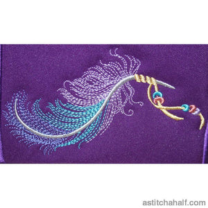 Totely Feathers Applique