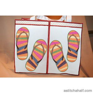 Totely Flip Flops Applique