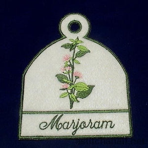 Towel Toppers Herbs - a-stitch-a-half