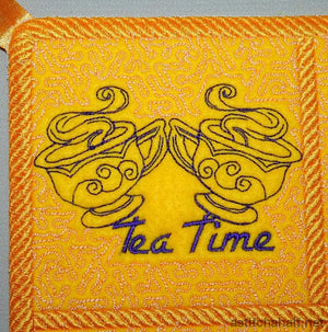 Trapunto Tea with Mum - a-stitch-a-half