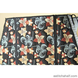 Urban Florals Tote Bag Applique