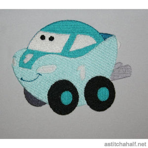 Van Can Car Embroidery Fill