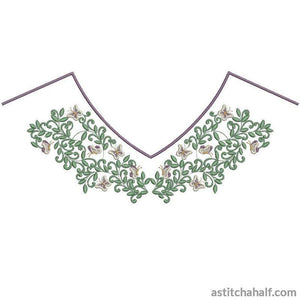 Vintage Neckline Variety Collection - a-stitch-a-half