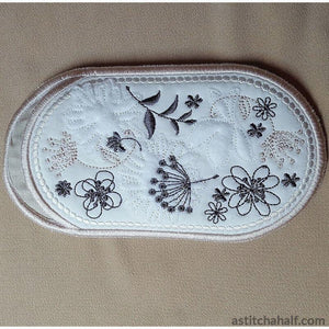 Vintage Spring Eyeglass Case In The Hoop