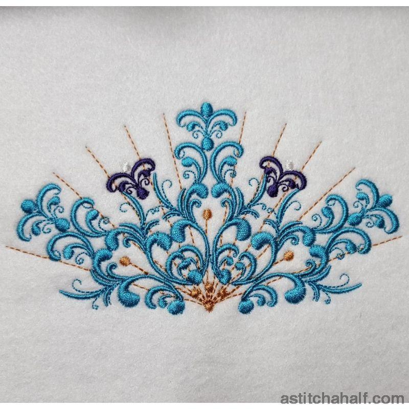 Vividly Beautiful - a-stitch-a-half