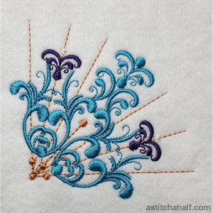 Vividly Beautiful Embroidery Fill