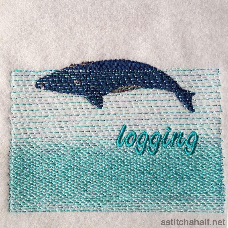 Whale Story Combo Embroidery Fill