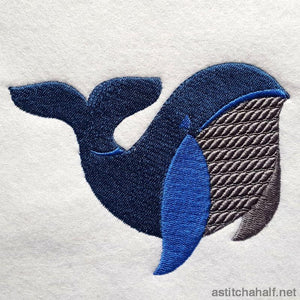 Whale Story Combo - a-stitch-a-half
