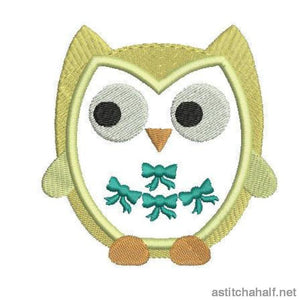 Whoo Love Owls Combo Embroidery Fill
