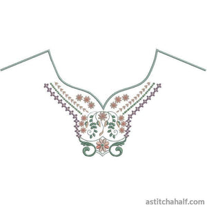 Wind Song Neckline Variety Collection - a-stitch-a-half