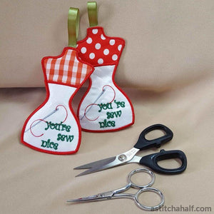 Your ITH Sew Nice Scissor Pocket - a-stitch-a-half