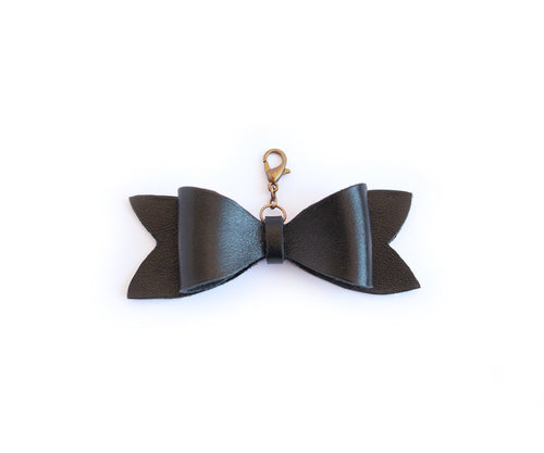 Charm Ribbon Black