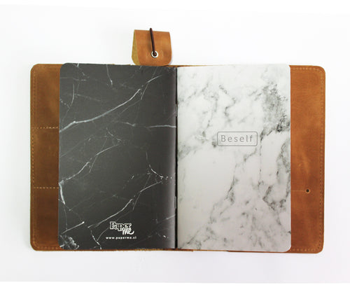SET Libretas BeSelf Marmol