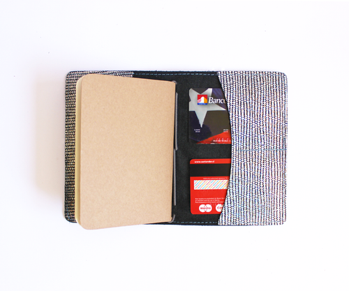 PaperMe, porta documento, cuero, porta pasaporte, pocket journey, pocket, midori, traveller, cromo