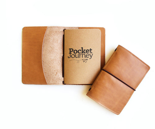 Portadocumentos Pocket Journey Toffee