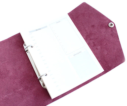 Libreta  RollUp Royal Purple