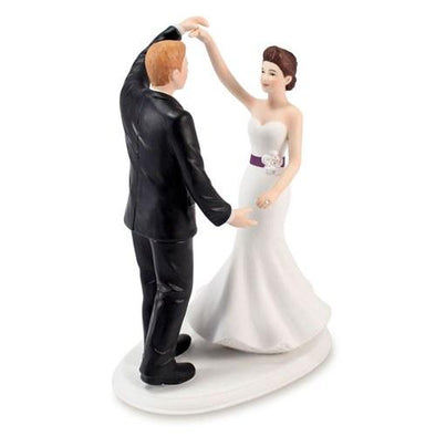 Dancing the Night Away Wedding Couple Figurine - Bridal Show Time