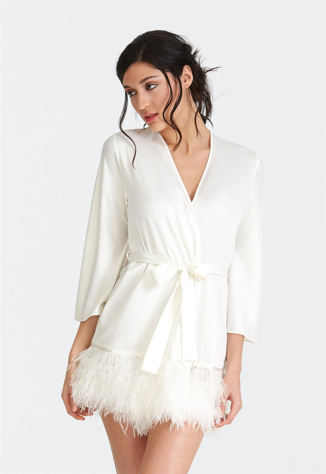 Swan Cover Up Ivory