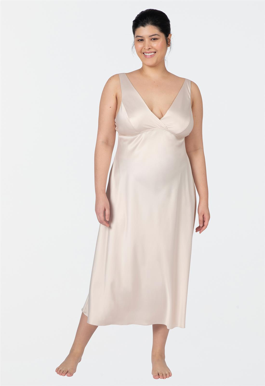 Positivity Gown Champagne