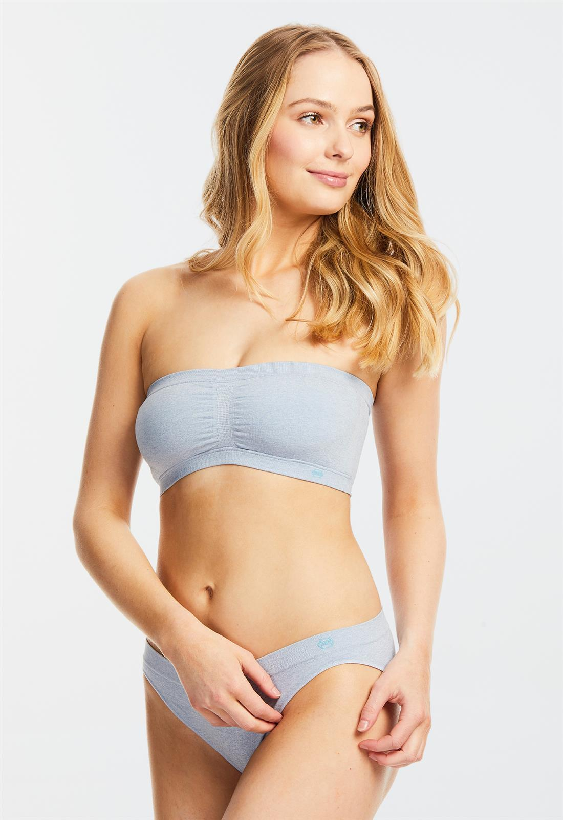 Mimi Bandeau Soft Denim
