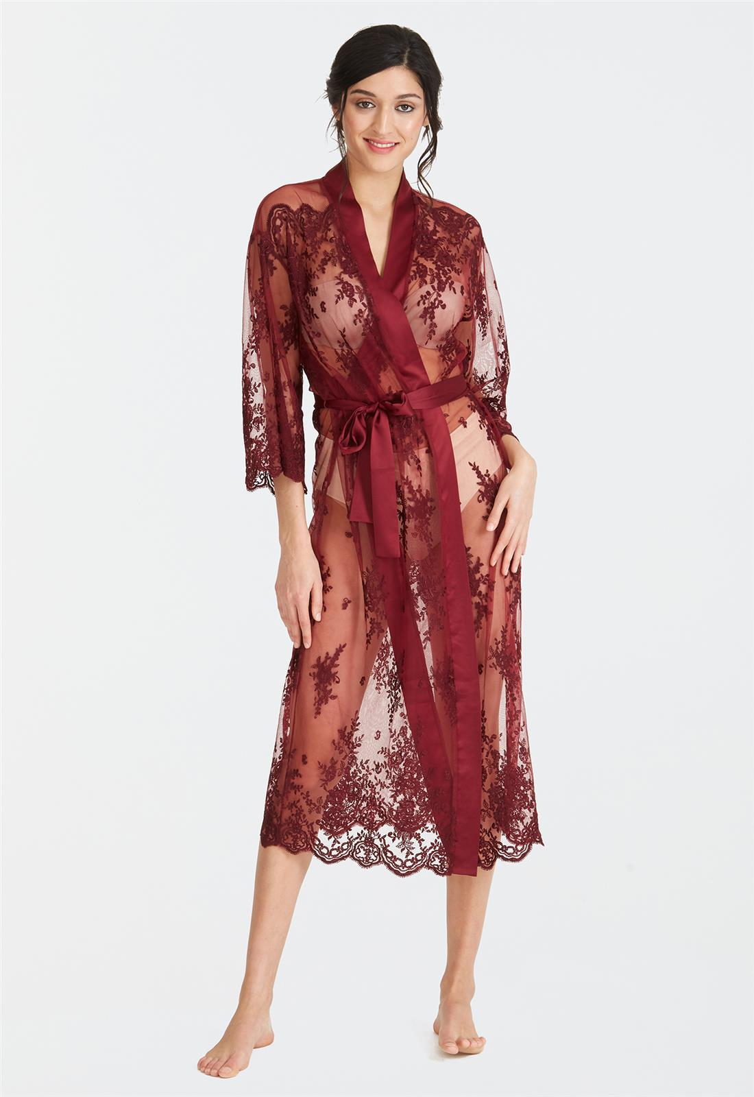 Darling Robe Burgundy