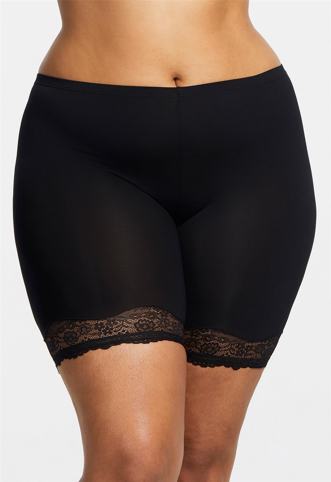 BodyBliss Breeze Collection Biker Short with Anti-chafing - M / REGT - Montelle Boutique