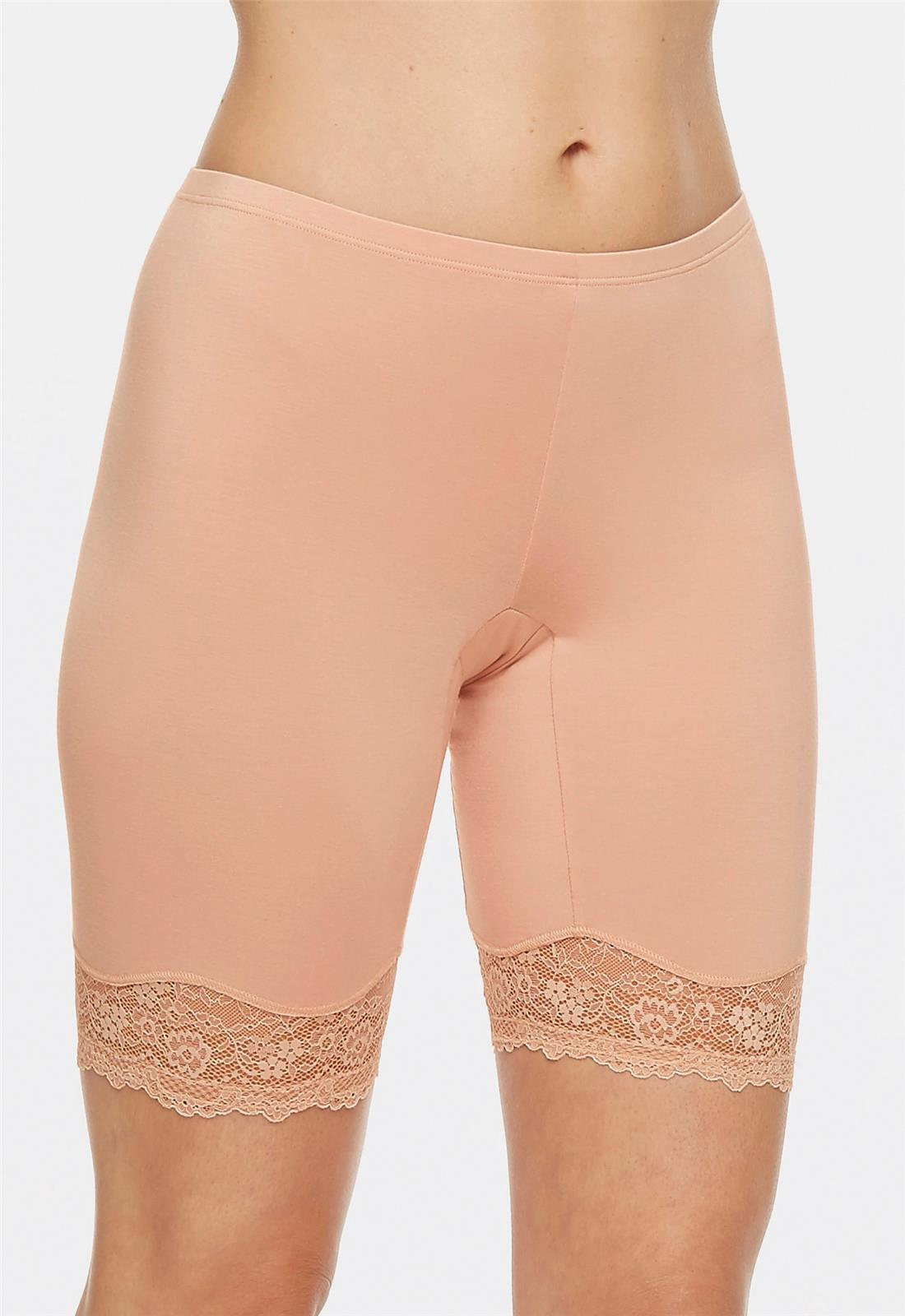 BodyBliss Breeze Collection Biker Short with Anti-chafing - L / REGT - Montelle Boutique