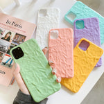 Candy Color Uneven iPhone Case - Casefy Shop