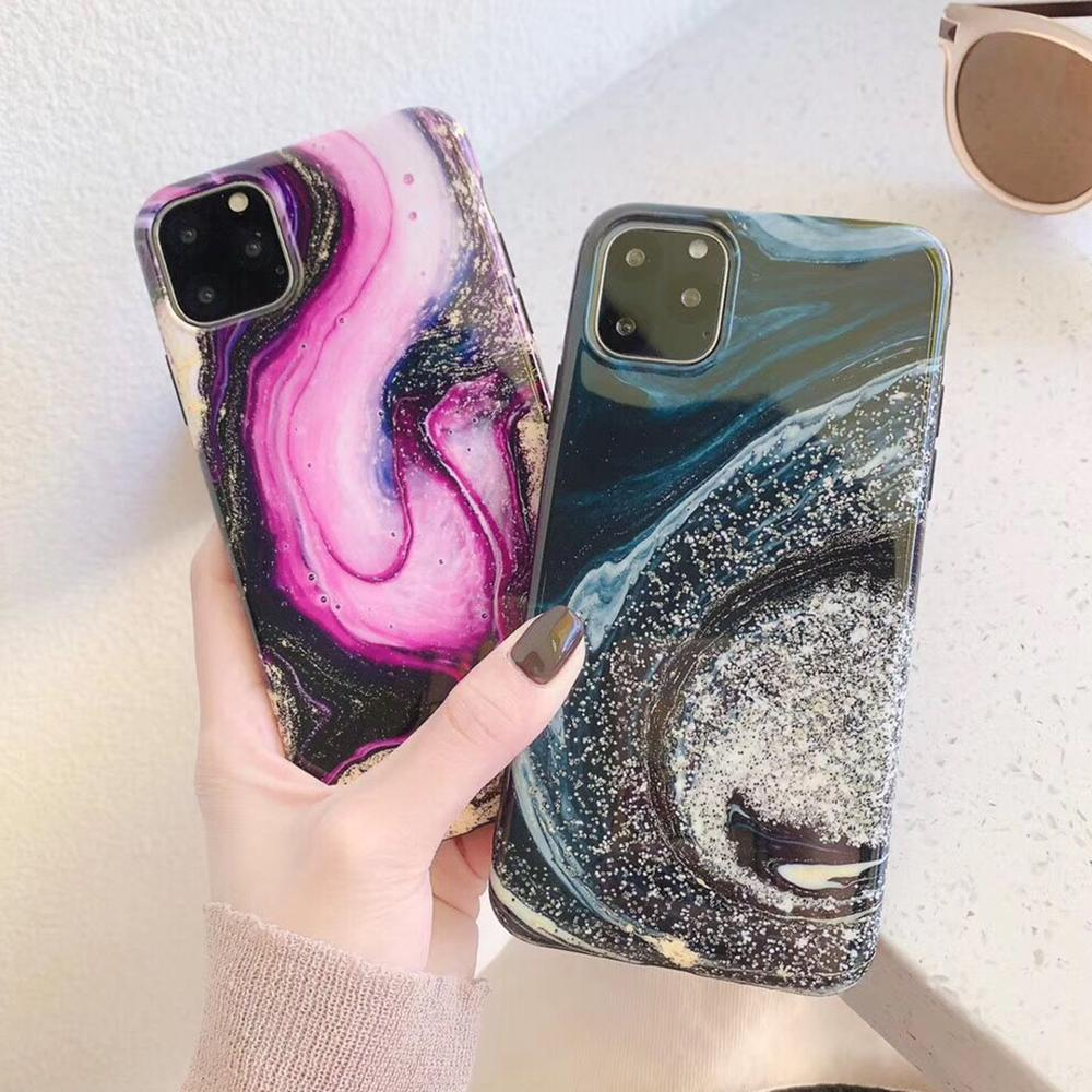 Glossy Marble iPhone Case - Casefy Shop
