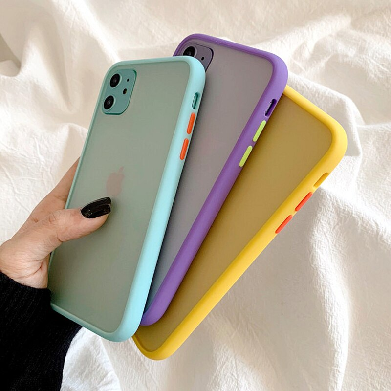 Candy Color Armor Shockproof iPhone Case - Casefy Shop