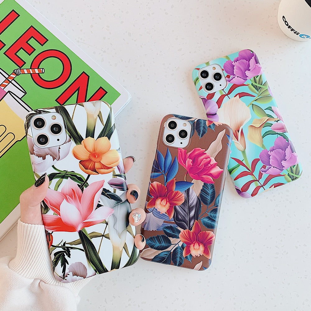 Beautiful Flower iPhone Case - Casefy Shop