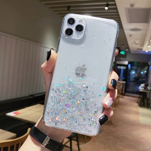 Gradient Glitter iPhone Case - Casefy Shop