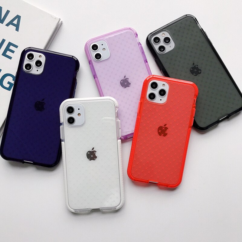 Cross Pattern Shockproof iPhone Case - Casefy Shop