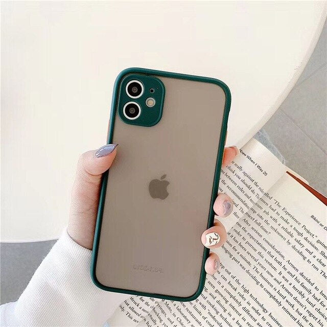 Blurred Camera Protection iPhone Case - Casefy Shop