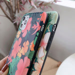 Flower With Banana Leaf iPhone Case - Casefy Shop