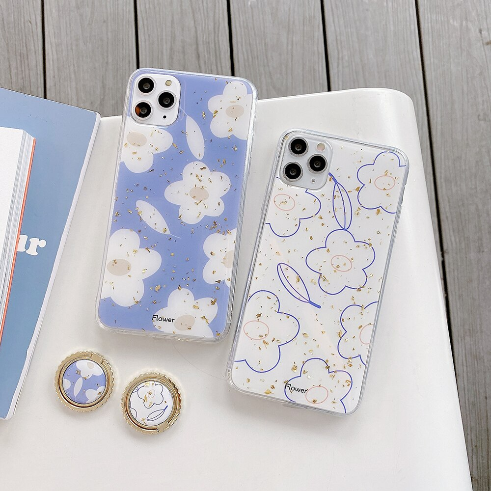 Flower Ring iPhone Case - Casefy Shop