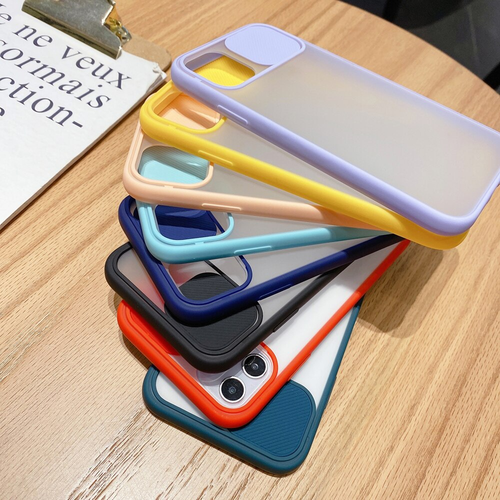 Slide Camera Protection iPhone Case - Casefy