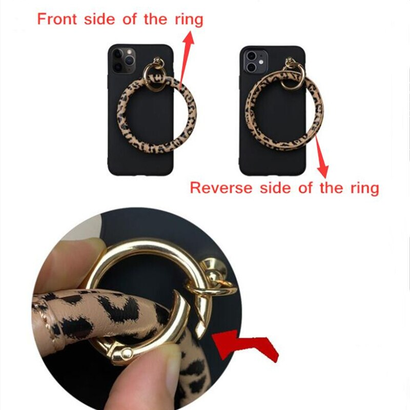 Luxury Leopard Bracelet iPhone Case - Casefy Shop