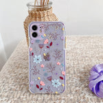 Transparent Flower iPhone Case - Casefy Shop